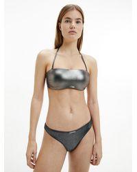 Calvin Klein Bikini - Mettallic