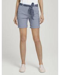 Tom Tailor Shorts - Blau