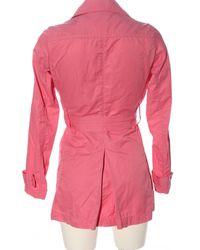 Benetton Übergangsmantel - Pink