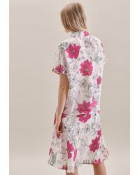 Seidensticker Hemdbluse ' Schwarze Rose ' - Pink