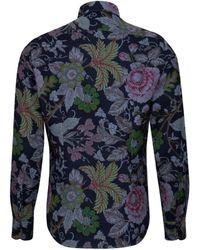 Jacques Britt Smart Casual Hemd ' Perfect Fit ' - Blau