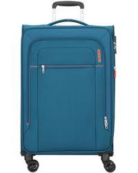 American Tourister Trolley - Blau