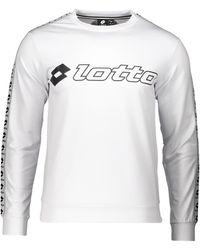 Lotto Leggenda Sweatshirt - Weiß