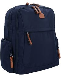 Bric's X-Travel Rucksack 38 cm Laptopfach - Blau