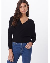 Missguided - Pullover 'WRAP CROSSOVER' - Lyst
