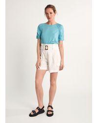 Comma, Shirt - Blau