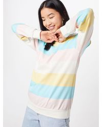 Iriedaily Sweatshirt 'Fat Stripe' - Mehrfarbig