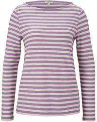Tom Tailor T-Shirt - Lila