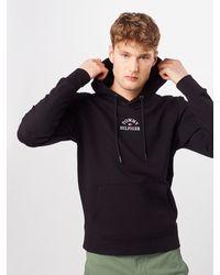 Tommy Hilfiger Sweatshirt ' EMBROIDERED HOODY' - Schwarz