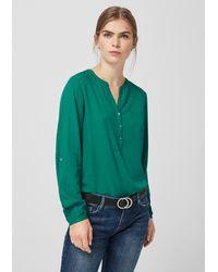 S.oliver Bluse - Grün
