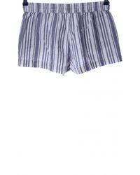 H&M Hot Pants - Blau