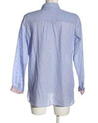 Promod Langarmhemd - Blau