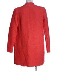 Zara Bodenlanger Mantel - Rot