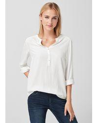 S.oliver Bluse - Weiß