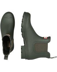 HUNTER Chelsea Boots - Grün