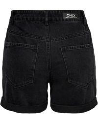 ONLY Shorts 'Vega' - Schwarz
