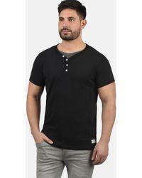 Solid Shirt 'DORIAN' - Schwarz