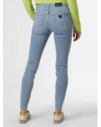 Armani Exchange Skinny-Jeans - Blau