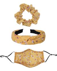 Six Mund-nasen-maske im set mischfarben - Mehrfarbig