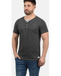 Solid Layershirt 'Dorian' - Mehrfarbig