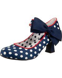Ruby Shoo Pumps 'Trixie' - Blau