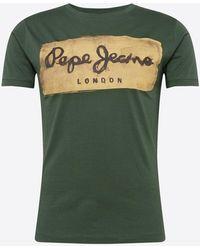 Pepe Jeans T-Shirt 'CHARING' - Grün