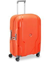 Delsey Clavel 4-Rollen Trolley 70 cm - Orange