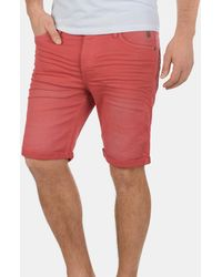 Blend Jeansshorts 'Diego' - Rot