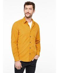 S.oliver Hemd - Gelb