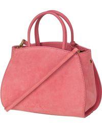 Coccinelle Umhängetasche ' Concrete Suede 5501 ' - Pink