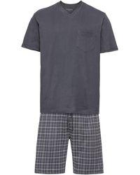 Schiesser Pyjama - Grau