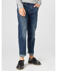 Levi's Jeans '502TM Taper Hi Ball' - Blau