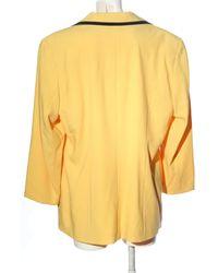 Alba Moda Long-Blazer - Gelb