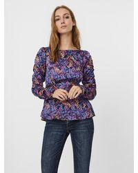 Vero Moda Bluse 'Amber' - Mehrfarbig