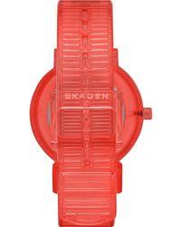 Skagen Uhr - Rot