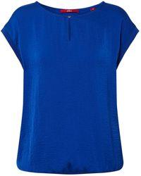 S.oliver Shirt - Blau