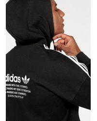 adidas Originals Trainingsjacke 'NMD HOODY FZ' - Schwarz