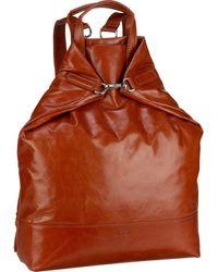 Jost Rucksack 'Boda 6632 X-Change Bag M' - Braun