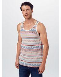 Iriedaily Shirt 'Hipstos' - Blau