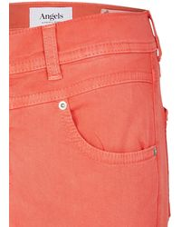 ANGELS Jeans 'Ornella Button' - Orange