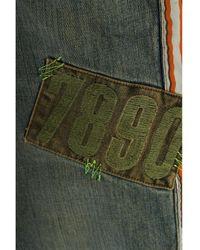 Zara 3/4 Jeans - Grün