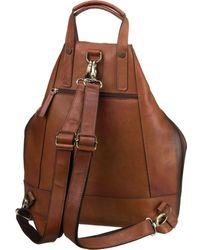 Jost Rucksack / Daypack ' Randers 2485 X-Change 3in1 Bag S ' - Braun