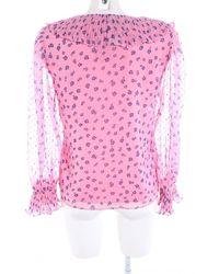 & Other Stories Rüschen-Bluse - Pink