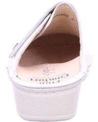 Finn Comfort Pantolette - Weiß