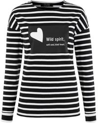 Aniston SELECTED Shirt - Schwarz