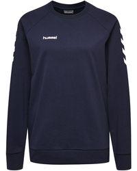 Hummel Sweatshirt - Blau