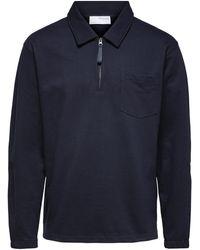 SELECTED Sweatshirt - Blau