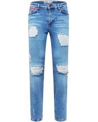 11 Degrees Jeans - Blau
