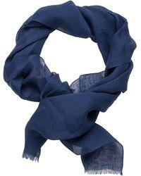Jacques Britt Schal ' Custom Fit ' - Blau