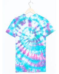 Hanes Tie Dye Shirt - Blau